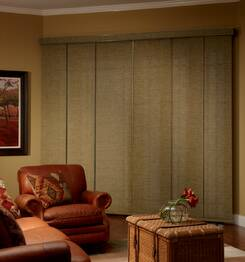 Window Covering Treatment Vertical Blind Patio Door