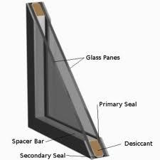 parts of a dual pane glass window
