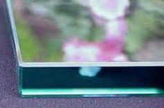 Flat Polished Glass Edge